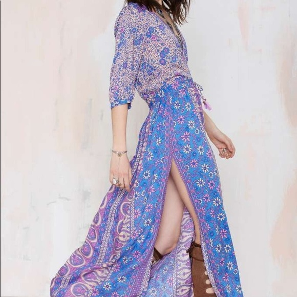 Spell & The Gypsy Collective Dresses & Skirts - Spell designs Boho blossom gown lavender